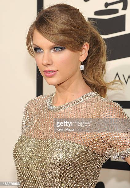 Taylor Swift attends the 56th GRAMMY Awards at Staples Center on January 26 2014 in Los Angeles California