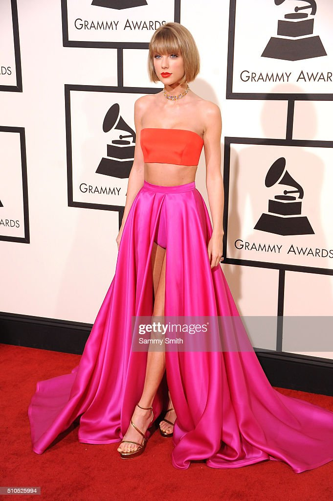 Taylor Swift attends the 58th GRAMMY Awards at Staples Center February 15, 2016 in Los Angeles, California.