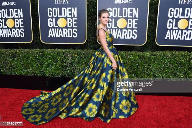 Taylor Swift attends the 77th Annual Golden Globe Awards at The Beverly Hilton Hotel on January 05 2020 in Beverly Hills California
