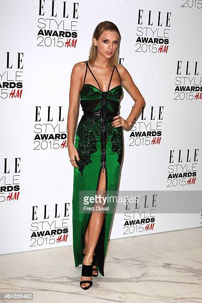 Taylor Swift attends the ELLE Style Awards at Sky Garden 20 Fenchurch Street EC3M 3BY on February 24 2015 in London England