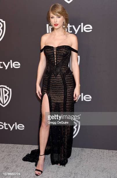 Taylor Swift attends the InStyle And Warner Bros. Golden Globes After Party 2019 at The Beverly Hilton Hotel on January 6, 2019 in Beverly Hills,...