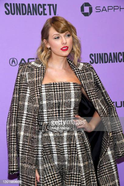 Taylor Swift attends the Netflix premiere of Miss Americana at Sundance Film Festival on January 23 2020 in Park City Utah