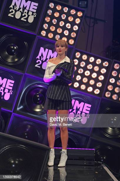Taylor Swift attends The NME Awards 2020 at the O2 Academy Brixton on February 12 2020 in London England
