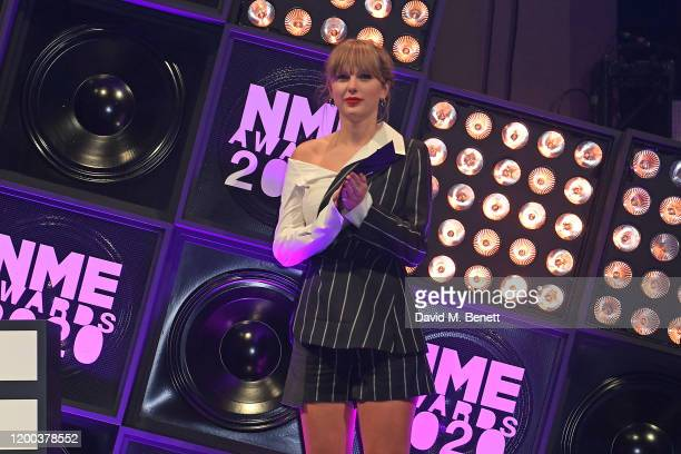 Taylor Swift attends The NME Awards 2020 at the O2 Academy Brixton on February 12, 2020 in London, England.