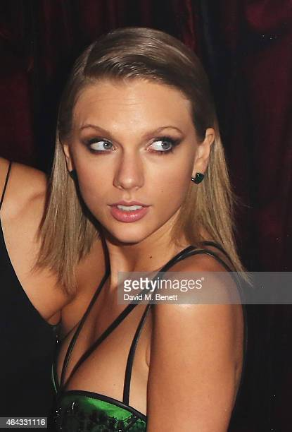 Taylor Swift attends the The World's First Fabulous Fund Fair hosted by Natalia Vodianova and Karlie Kloss in support of The Naked Heart Foundation...