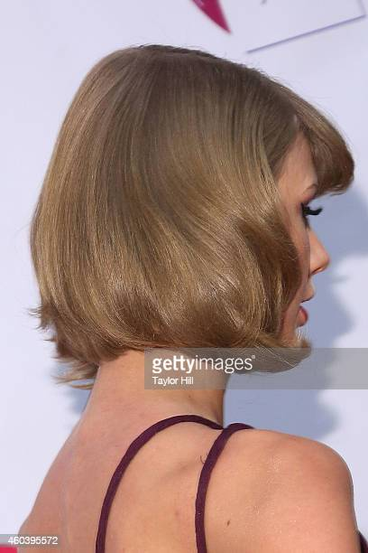 Taylor Swift attends Z100's Jingle Ball at Madison Square Garden on December 12 2014 in New York City