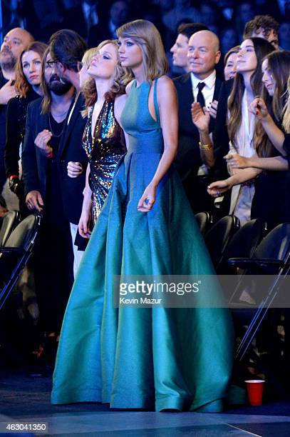 Taylor Swift during The 57th Annual GRAMMY Awards at the STAPLES Center on February 8 2015 in Los Angeles California