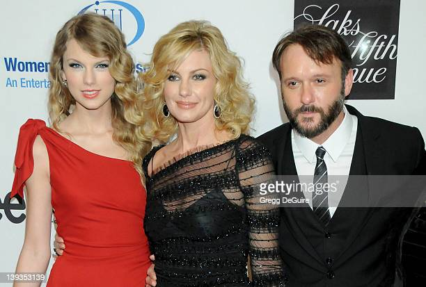 Taylor Swift Faith Hill and Tim McGraw arrive at The 13th Annual Unforgettable Evening Benefiting EIF's Women's Cancer Research Fund at the Beverly...