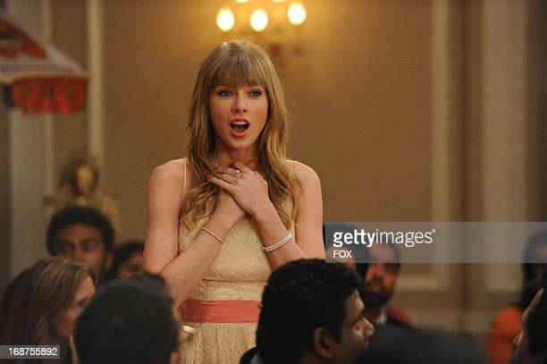 Taylor Swift gueststars in the Elaine's Big Day season finale episode of NEW GIRL airing Tuesday May 14 2013 on FOX