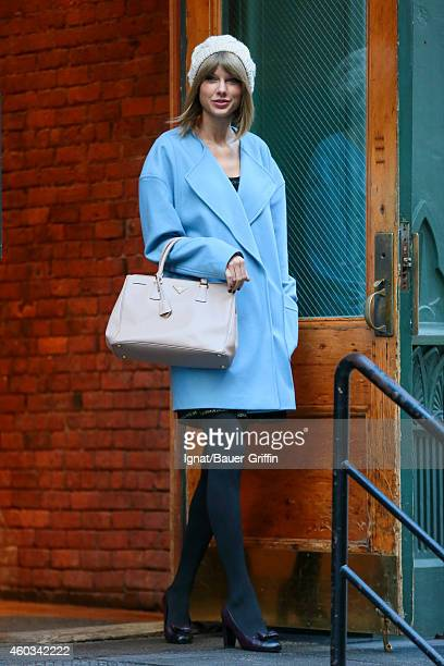 Taylor Swift is seen in New York City on December 11 2014 in New York City