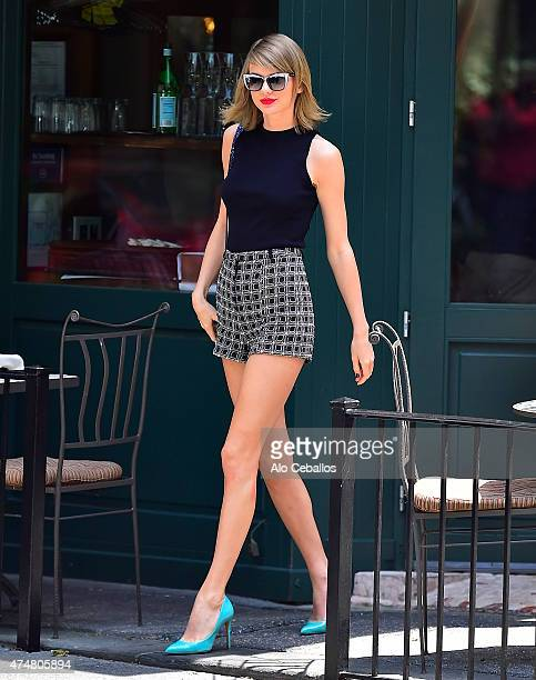 Taylor Swift is seen in the West Village on May 26 2015 in New York City
