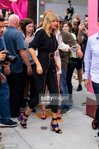 Taylor Swift is seen on August 23 2019 in the Brooklyn borough of New York City
