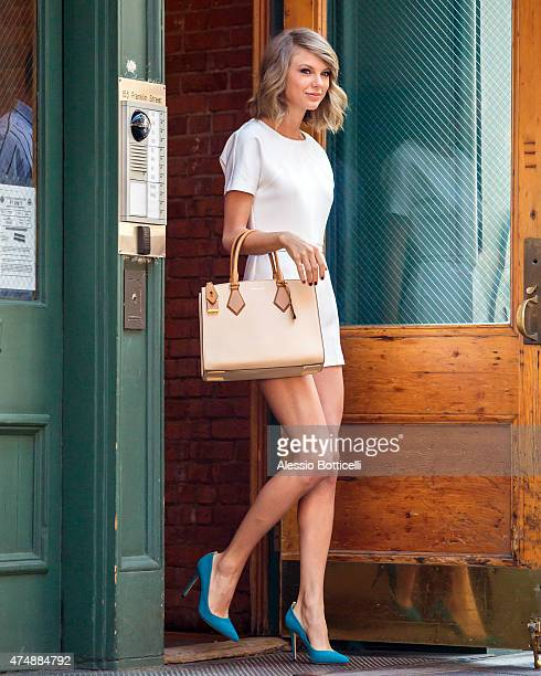 Taylor Swift is seen out and about in TriBeCa on May 27 2015 in New York City