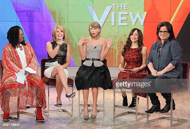 THE VIEW Taylor Swift is the guest today Wednesday October 29 2014 on Walt Disney Television via Getty Images's The View The View airs MondayFriday...