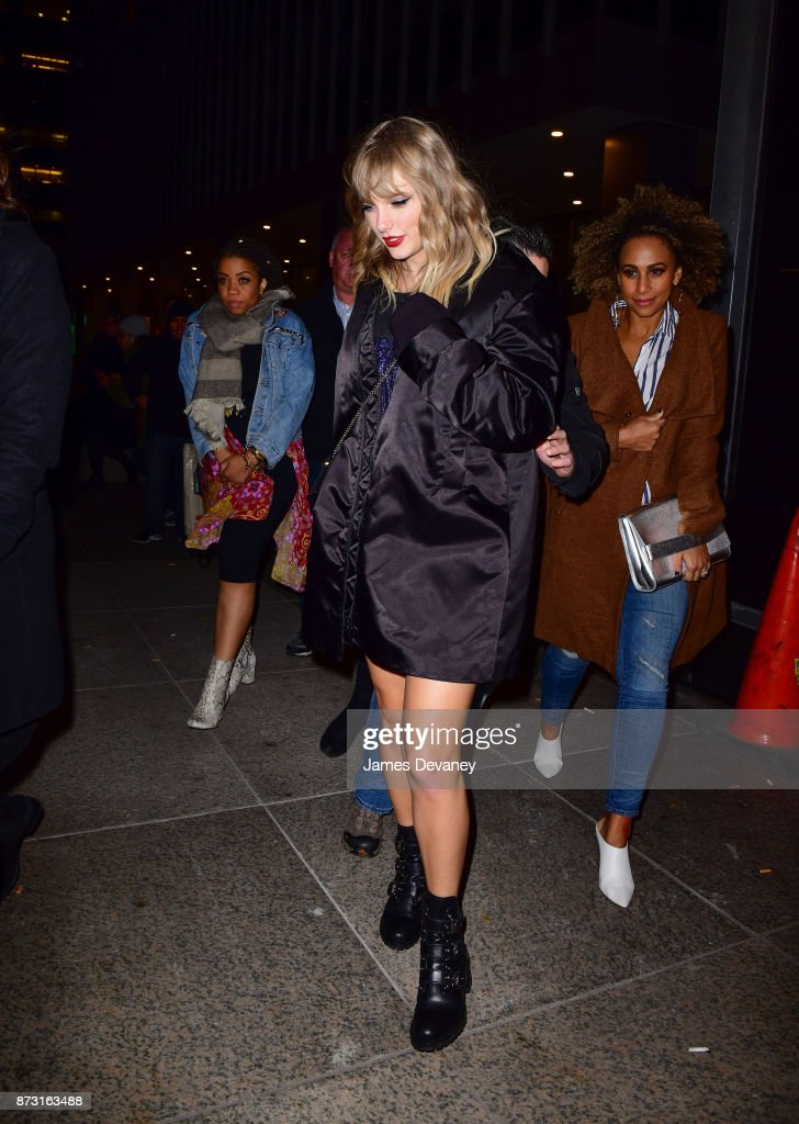 Taylor Swift returned to the spotlight to perform on SNL and celebrate at the after-party at Mastro's Steakhouse.