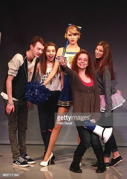 Taylor Swift new wax figure is unveil at Madame Tussauds on February 10 2015 in London England