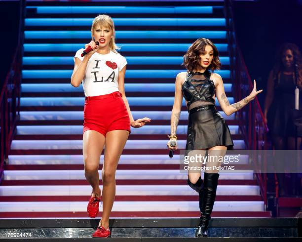 Taylor Swift performed the first of a fournight run of soldout shows at the STAPLES Center in Los Angeles as part of her RED World Tour This week she...