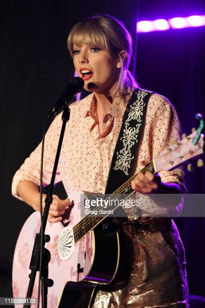 Taylor Swift performs at AEG and Stonewall Inn's pride celebration commemorating the 50th anniversary of the Stonewall Uprising AEG has pledged its...