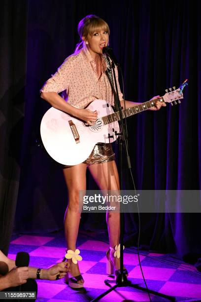 Taylor Swift performs at AEG and Stonewall Inn's pride celebration commemorating the 50th anniversary of the Stonewall Uprising. AEG has pledged its...