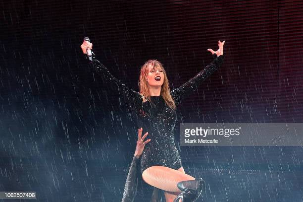 Taylor Swift performs at ANZ Stadium on November 02 2018 in Sydney Australia