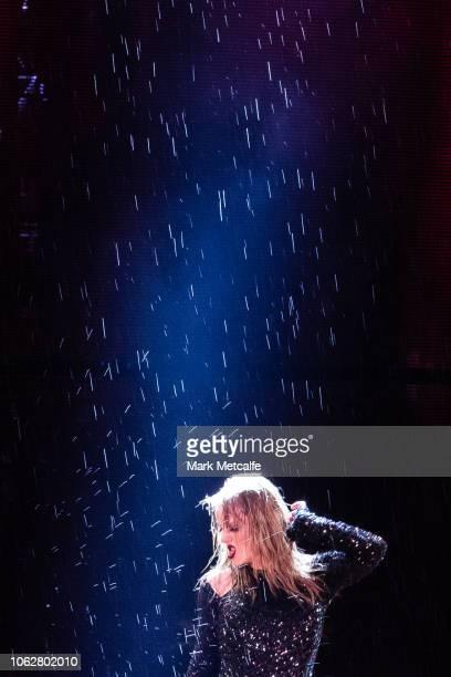 Taylor Swift performs at ANZ Stadium on November 02 2018 in Sydney Australia