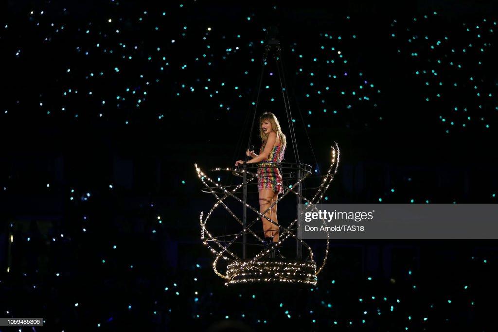 Taylor Swift Retion Stadium Tour Auckland News Photo