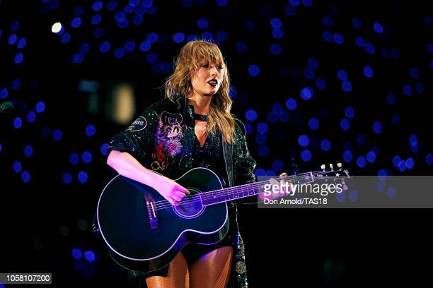 Taylor Swift performs at The Gabba on November 6 2018 in Brisbane Australia