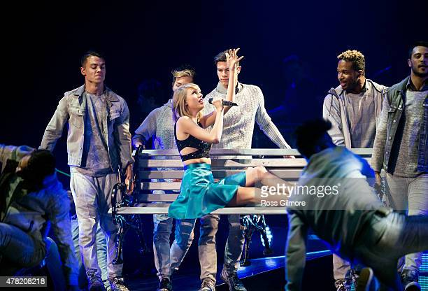 Taylor Swift performs at The SSE Hydro on June 23 2015 in Glasgow Scotland