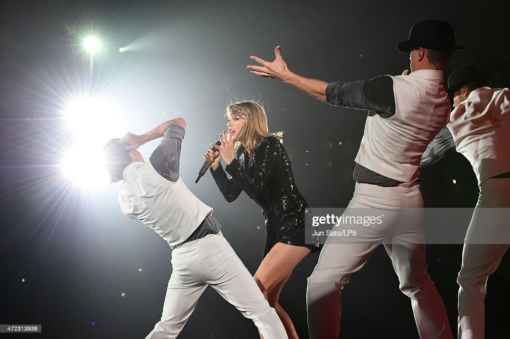 Taylor Swift performs during The 1989 World Tour at Tokyo Dome at Tokyo Dome on May 6, 2015 in Tokyo, Japan.