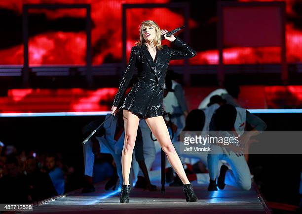 Taylor Swift performs during The 1989 World Tour Live at BC Place Stadium August 1 2015 in Vancouver British Columbia Canada
