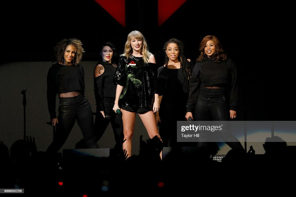 Taylor Swift performs during the 2017 Z100 Jingle Ball at Madison Square Garden on December 8, 2017 in New York City.