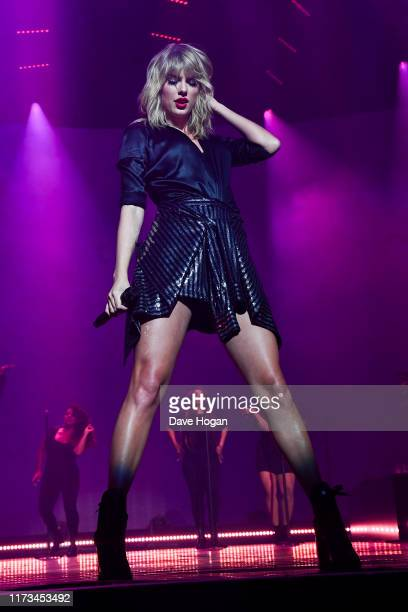 "Taylor Swift performs during the ""City of Lover"" concert at L'Olympia on September 9, 2019 in Paris, France."