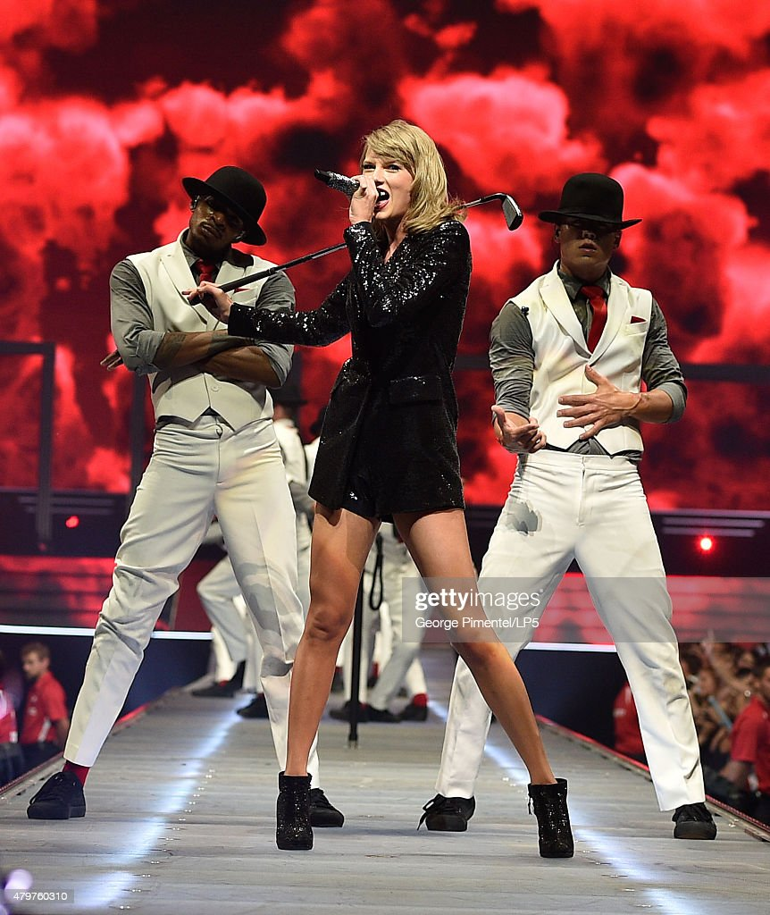 Taylor Swift performs for The 1989 World Tour Live at Canadian Tire Centre on July 6, 2015 in Kanata, Canada.