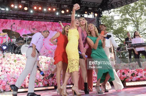 """Taylor Swift performs live from Central Park on """"Good Morning America,"""" Thursday, August 22 airing on the Walt Disney Television Network. GMA19..."""