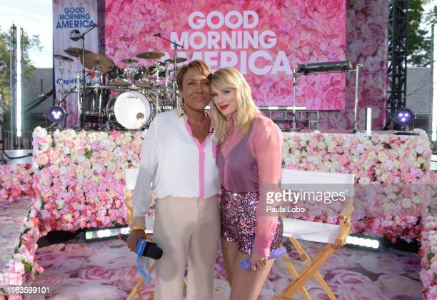 """Taylor Swift performs live from Central Park on """"Good Morning America,"""" Thursday, August 22 airing on the Walt Disney Television Network. GMA19 ROBIN..."""