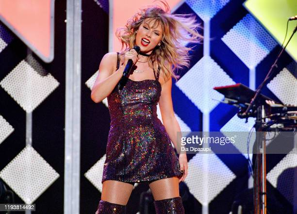 Taylor Swift performs onstage during iHeartRadio's Z100 Jingle Ball 2019 Presented By Capital One on December 13 2019 in New York City