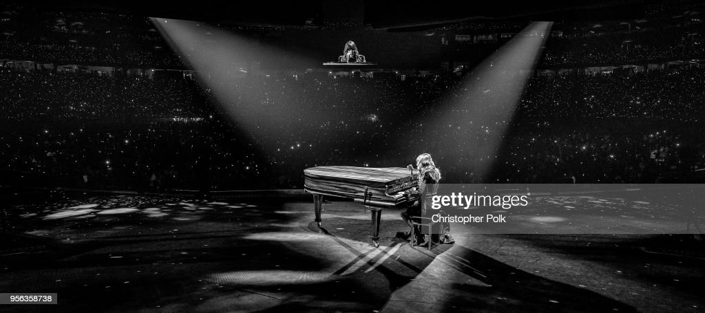 Taylor Swift performs onstage during opening night of Taylor Swift's 2018 Reputation Stadium Tour at University of Phoenix Stadium on May 8, 2018 in Glendale, Arizona.