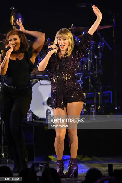 Taylor Swift performs onstage during the 7th Annual We Can Survive presented by ATT a RADIOCOM event at The Hollywood Bowl on October 19 2019 in Los...