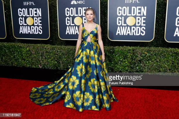 STATES JANUARY Taylor Swift photographed on the red carpet of the 77th Annual Golden Globe Awards at The Beverly Hilton Hotel on January 05 2020 in...