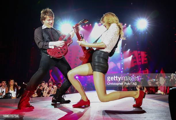 Taylor Swift played the first of 13 North American stadium dates on The RED Tour at Ford Field in front of a soldout crowd of more than 48000 fans on...