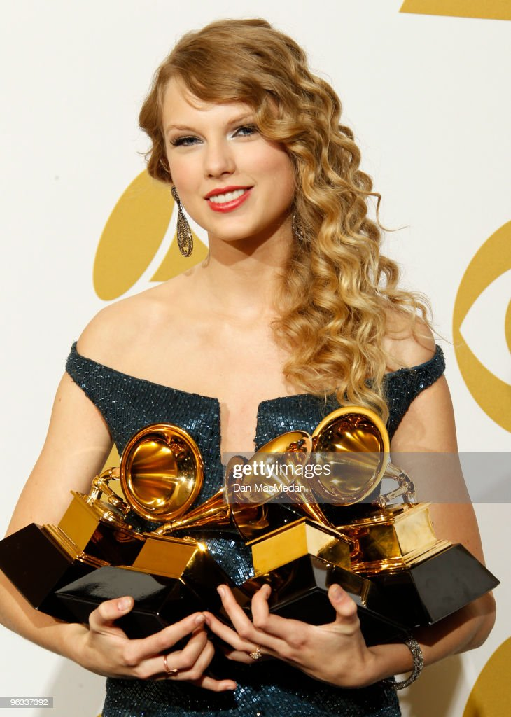 52nd Annual GRAMMY Awards - Press Room : News Photo