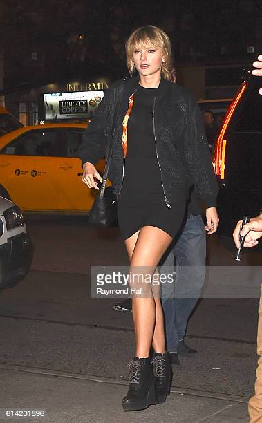 Taylor Swift seen on October 12 2016 in New York City