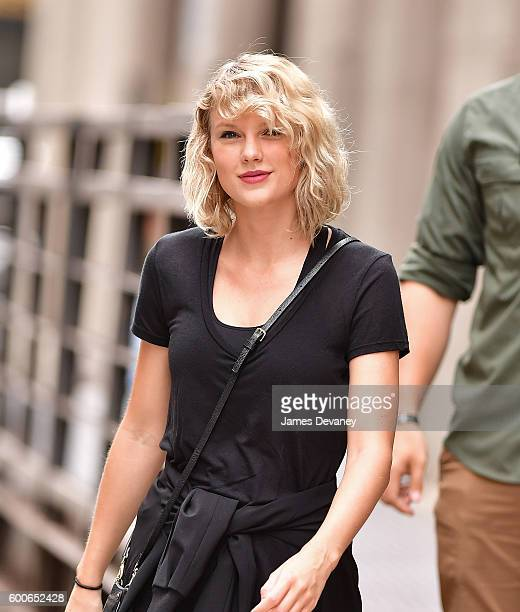 Taylor Swift seen on the streets of Manhattan on September 7 2016 in New York City