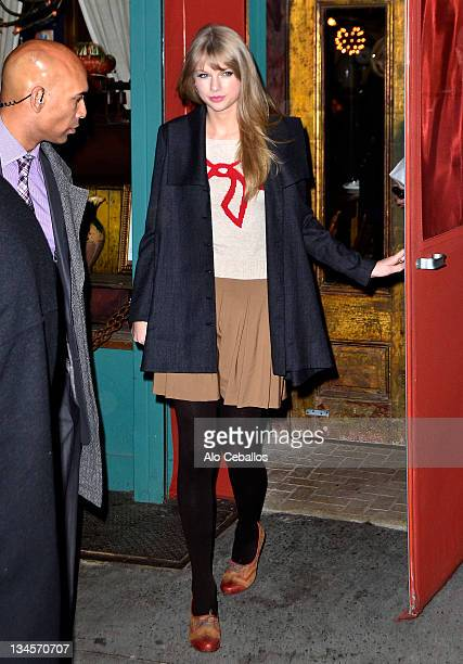 Taylor Swift sighting on December 2 2011 in New York City