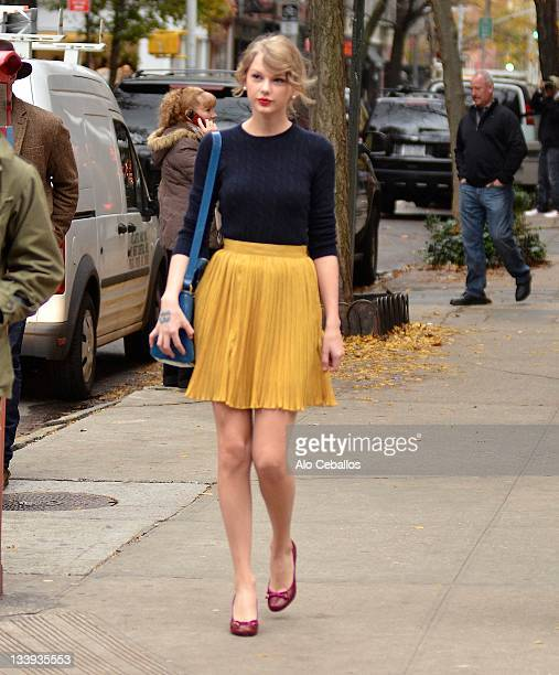Taylor Swift sighting on November 22 2011 in New York City