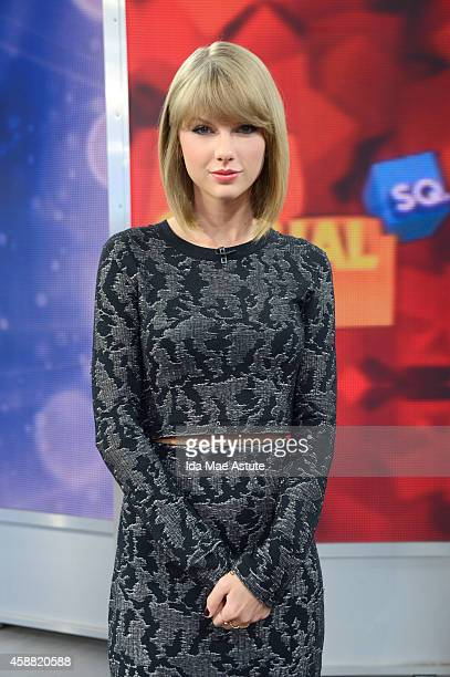 AMERICA Taylor Swift talks about her new app on GOOD MORNING AMERICA 11/11/14 airing on the Walt Disney Television via Getty Images Television Network