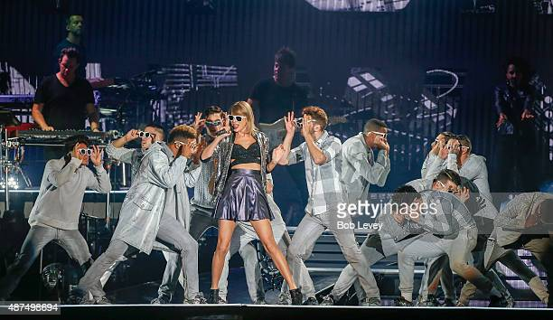 Taylor Swift The 1989 World Tour Live In Houston at Minute Maid Park on September 9, 2015 in Houston, Texas.