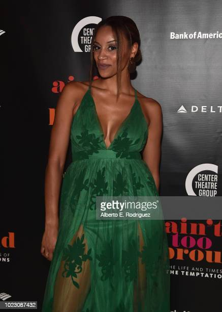 Taylor Symone Jackson attends the after party for the Opening Night of Ain't Too Proud The Life And Times Of The Temptations at the Dorothy Chandler...