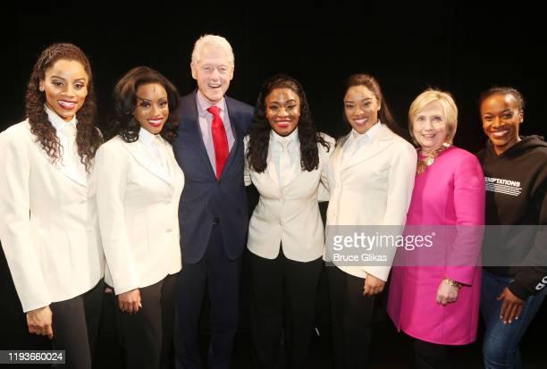 Taylor Symone Jackson, Candice Marie Woods, 42nd President of the United States Bill Clinton, Nasia Thomas, Rashidra Scott, Hillary Clinton and...