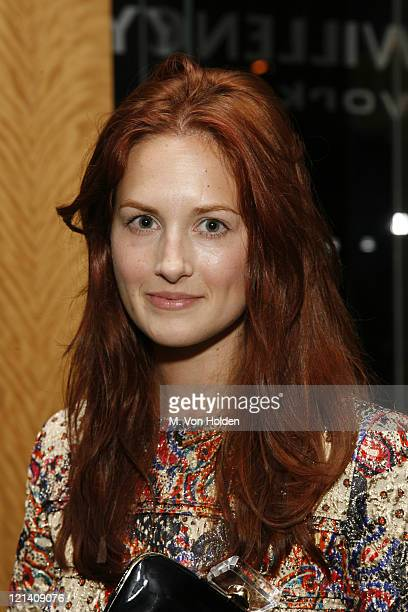 Taylor Tomossi during The Launch of Carlos Mota for Villency Atelier Hosted by Eric Villency and Margaret Russell - November 15, 2006 at Maurice...